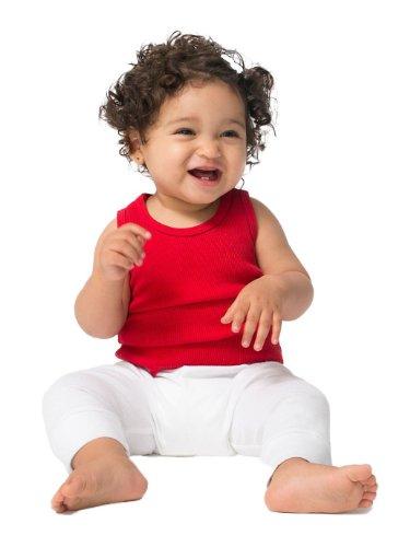 American Apparel Infant Rib Tank Top – Red / 12-18M Reviews