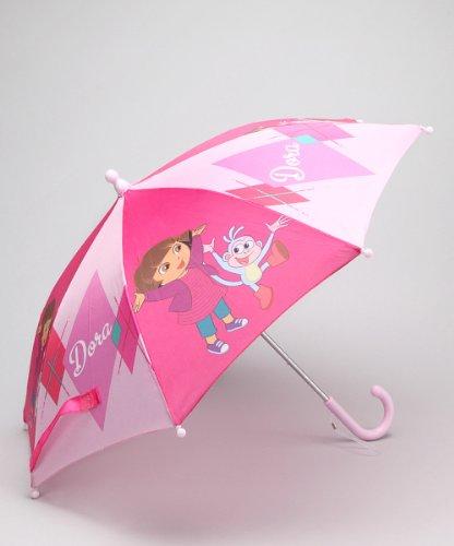 Dora the Explorer Girl's Pink Umbrella