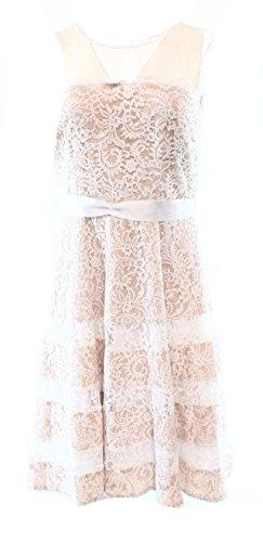 Betsy /& Adam Womens Notched Jersey Sheath Dress