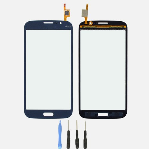 Touch Screen Glass Digitizer Replacement Lens Part For Samsung Galaxy Mega 5.8 I9150 | Duos I9152(No Lcd) Blue Color