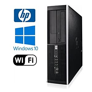 Workplace PC: HP 6000 Pro SFF Desktop - Intel Core 2 Duo 2.93GHz - NEW 1TB HDD - 8GB DDR3 - Windows 10 Pro 64-Bit - WiFi - DVD-ROM (Prepared by ReCircuit)