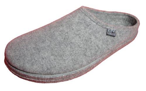 Cheap Andres Machado Women's Grey Alpine Slippers (B004B7RHEA)