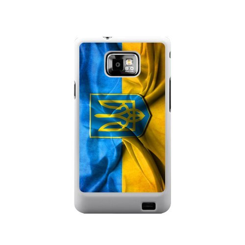 Review:  Creative Ukraine Flag Poster Ukraine Flag Sticker for Samsung Galaxy S2 I9100 Cover Top Samsung Case Show(not Fit T-mobile and Sprint Version)
