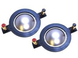2 Behringer 44P60A8 Horn Diaphragms - Mackie, P Audio, Turbosound, Beringer, P450 - 8 Ohm