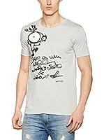 Bichobichejo Camiseta Manga Corta (Gris)