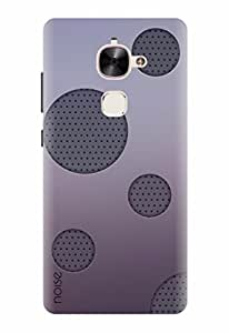 Noise Designer Printed Case / Cover for LeEco Le 2 / Graffiti & Illustrations / Purple Bubbles Design