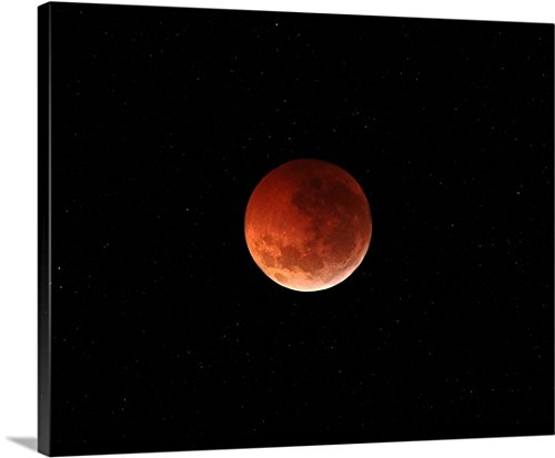 luis-argerich-gallery-wrapped-canvas-entitled-the-totality-phase-of-a-lunar-eclipse-during-the-2010-