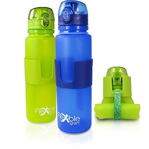 flexible-sport-faltbare-trinkflasche-aus-bpa-freiem-silikon-mit-one-touch-verschluss-650-ml-hochwert