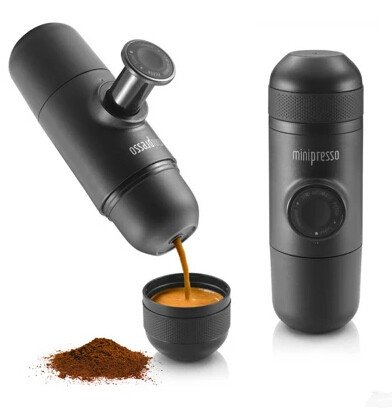 WACACO Minipresso manually hand pressure portable espresso machine coffee pressing bottle