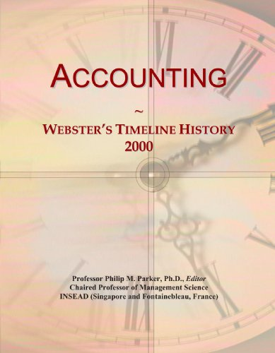 Accounting: Webster's Timeline History, 2000