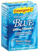 Emergen-C Blue (10 packets) by Alacer Corp.