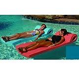 Ultra Sunsation Pool Float Color: Aquamarine