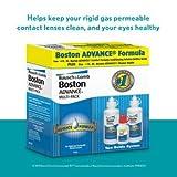 Baush & Lomb Boston Advance Multi-Pack (2 X 4 Fl Oz Plus 1 Fl Oz Cleaner Bottle)