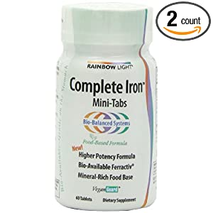 Amazon Com Rainbow Light Complete Iron System Food Grown
