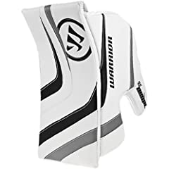 Buy Warrior Intermediate Ritual Goalie Hockey Blocker, White Black Silver by Warrior