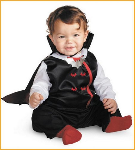 Vampire Halloween Costumes for Baby