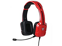 Mad Catz PS3/PS4/Xbox 360 Tritton Kunai Universal Stereo Headset (Red)