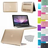 """LOVE MY CASE / NEW CHAMPAGNE GOLD Rubberized See-Through Hard Case Cover for Apple Macbook Pro 13"""" 13.3"""" A1278 (will NOT fit retina display models)"""