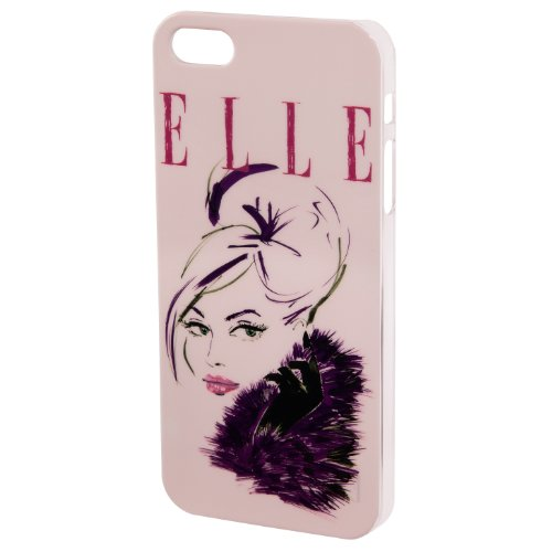 "ELLE Cover ""lady in Pink"" per iPhone 5/5S, colore rosa"