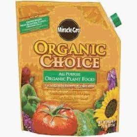 Miracle Go Organic Choice Plant Food