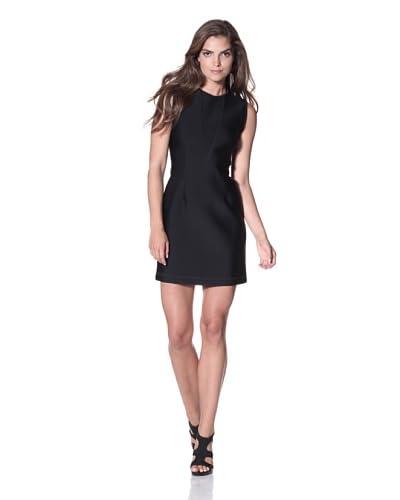 Cynthia Rowley Women's Bonded Spandex Sleeveless Tank Dress  – Black