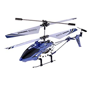 Syma S107G 3.5 Channel RC Helicopter with Gyro, Blue
