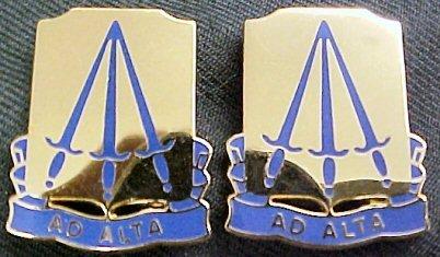73rd Ordnance Battalion Distinctive Unit Insignia - Pair