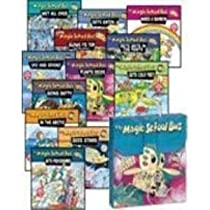 Big Sale Best Cheap Deals THE MAGIC SCHOOL BUS BRIEFCASE (12-BOOK SET IN CARRYING CASE) (The Magic School Bus ... Blows Its Top: A Book About Volcanoes, Gets Ants in Its Pants: A Book About Ants, Gets Cold Feet: A Book About Warm- and Cold-Blooded Animals, Gets Eaten: A Book About Food Chains, Gets Programmed: A Book About Computers, Going Batty: A Book About Bats, In the Arctic: A Book About Heat, Makes a Rainbow: A Book About Color, Plants Seeds: A Book About How Living Things Grow, Sees Stars: A Book About Stars, Ups and Downs: A Book About Floating and Sinking, Wet All Over: A Book About the Water Cycle)