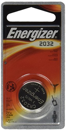 Energizer CR2032 Battery Lithium 2032 Button Cell 3V Coin Watch (Pack of 6) (Energizer Battery Cr2032 compare prices)