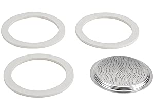 Bialetti 9 Cup Moka Express Espresso Maker Replacement Gaskets 06962 by Bialetti
