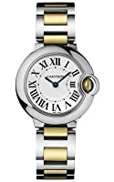 Cartier Women's W69007Z3 Ballon Bleu Stainless Steel and 18K Gold Watch by Cartier