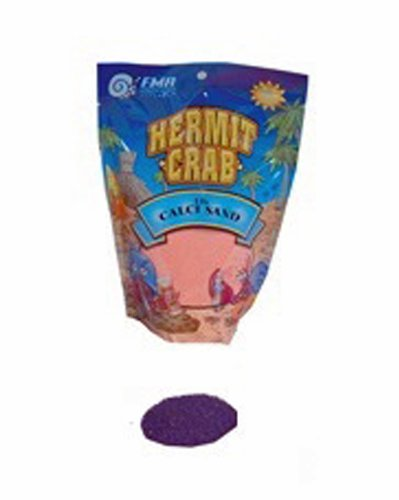 Florida Marine Research SFM50015 Naturals Reptiles Calci Sand, 1-Pound, Purple