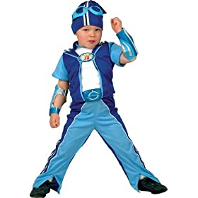 Lazy Town Sportacus Muscle Costume