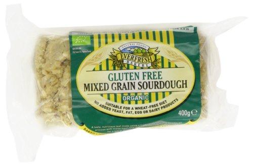 Sunnyvale Mixed Grain Organic Bread 400 g (Pack of 4)