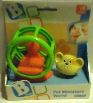 Bkids Playset Miniature World Hamster