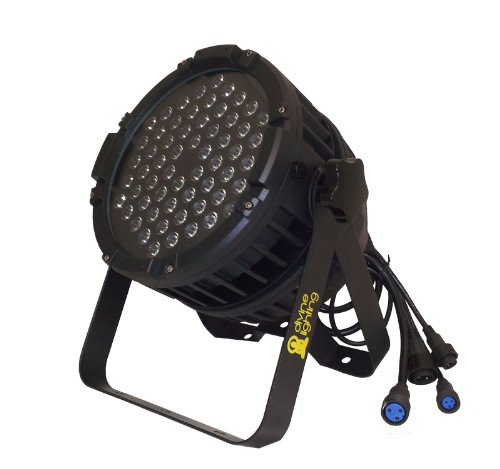 10 Qty. Divine Lighting Led Hyper 603 Pro Rgbw Wash Waterproof Light 60 X 3 Watt