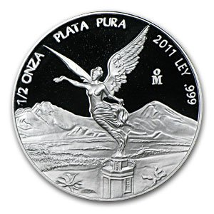 2011 1/2 oz Silver Mexican Libertad - (Proof)