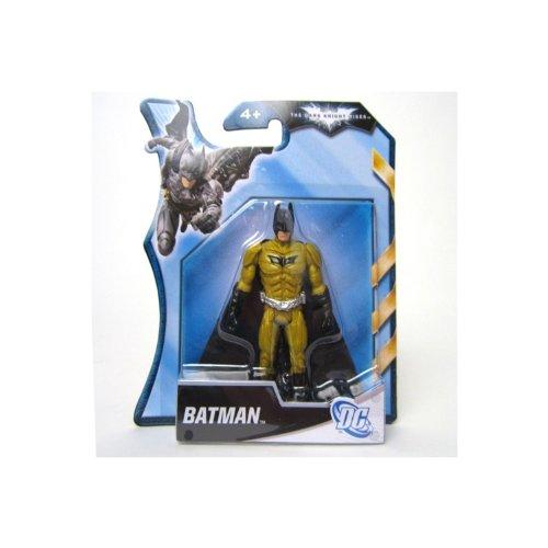 Batman Dark Knight Rises 4 Inch Action Figure Gold Armor Batman