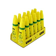 Saunders UHU Twist and Glue, 3.2 fl oz., Clear, Pack of 12 (21150)