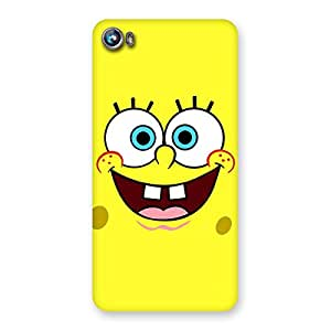 Gorgeous Spong Yellow Back Case Cover for Micromax Canvas Fire 4 A107
