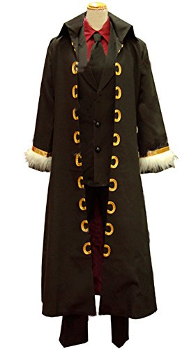[Japan Cosplay] ONE PIECE Theatre Version STRONG WORLD Monkey D. Luffy Costume Mens