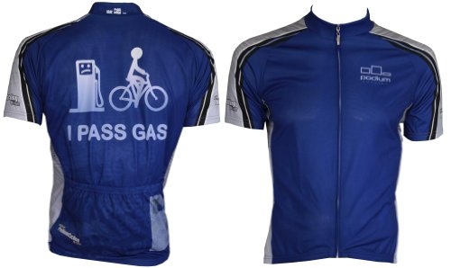 Buy Low Price I Pass Gas Cycling Jersey (B005J6AQHM)