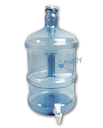 3 Gallon Water Bottle Polycarbonate Plastic Faucet Spigot Dispenser Jug Canteen (Jugs With Spigots compare prices)