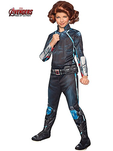 Rubie's Costume Avengers 2 Age of Ultron Child's Deluxe Black Widow Costume