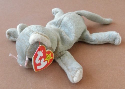 TY Beanie Babies Scat the Cat Plush Toy Stuffed Animal