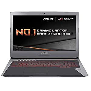 ASUS ROG G752VY-T7048T Notebook (i7-6700HQ, Blu-Ray DVD Combo, Touchpad, Windows 10 Home, 64-bit, 6th gen Intel Core i7) - Grey