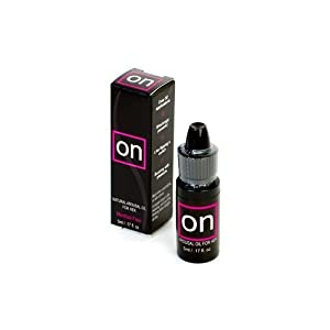 ON Natural Arousal Oil for Her, .17 Fluid Ounces