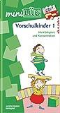 miniLÜK: Vorschulkinder 1: Merkfähigkeit und Konzentration für Kinder von 4 bis 6 Jahren