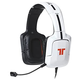 TRITTON 720+ Casque Gaming 7.1 Surround compatible PS4 / PS3 / Xbox 360  / Wii U / PC / Mac - Blanc glossy
