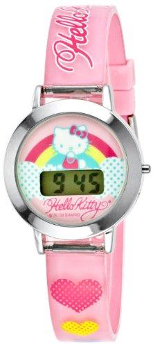 Hello Kitty Kids' HK1052T LCD Watch Set